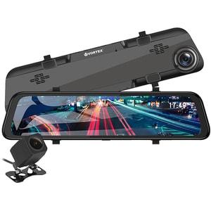 """Camera auto duala DVR VORTEX VO2105 , FHD, 11.66"""", negru"""