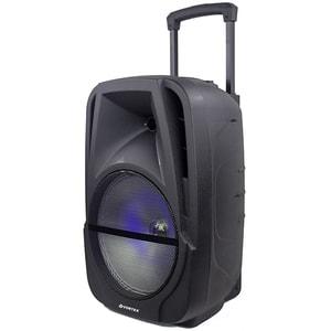 Boxa portabila cu microfon Wireless VORTEX VO2604, Bluetooth, USB, Radio FM, negru