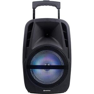 Boxa portabila cu microfon Wireless VORTEX VO2605, Bluetooth, USB, Radio FM, negru