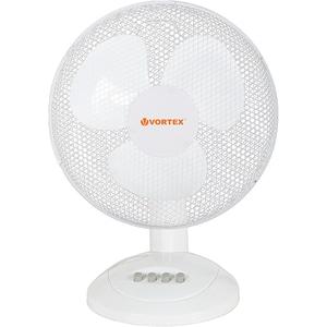 Ventilator de birou VORTEX VO4227, 3 trepte de viteza, 40 cm, 40W, alb