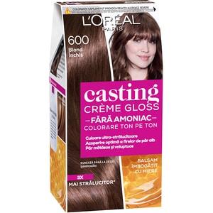 Vopsea de par L'OREAL Paris Casting Creme Gloss, 600 Blond Fonc, 180ml