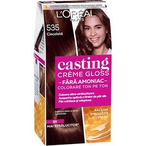 Vopsea de par L'OREAL Paris Casting Creme Gloss, 535 Chocolate, 180ml