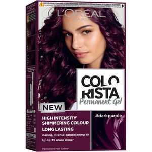 Vopsea de par L'OREAL Paris Colorista, Dark Purple, 204ml