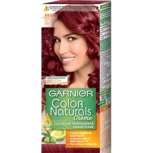 Vopsea de par GARNIER  Color Naturals, 6.60 Roscat Pur Intens, 110ml