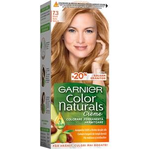 Vopsea de par GARNIER  Color Naturals, 7.3 Blond Auriu Natural, 110ml