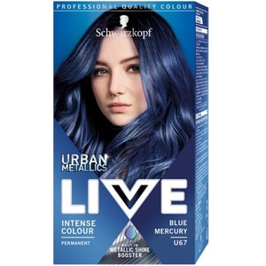 Vopsea de par LIVE Color Urban Metallics, U67 Blue Mercury, 142.5ml