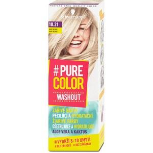 Vopsea de par SCHWARZKOPF Pure Color Washout, 10.21 Baby Blond, 60ml