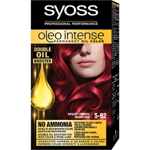 Vopsea de par SYOSS Color Oleo, 5-92 Roscat Luminos, 115ml