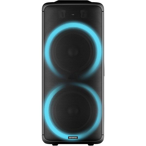 Boxa portabila VORTEX VO2609, 50W RMS, Bluetooth, Radio FM, negru