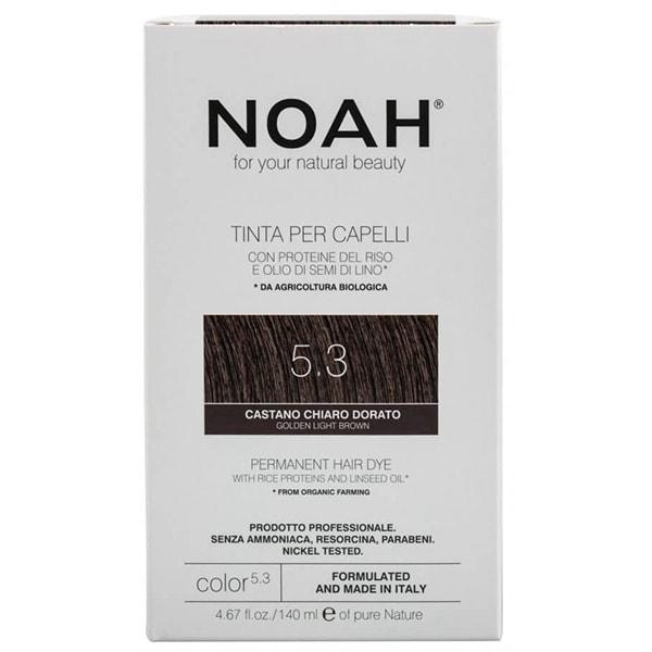 Vopsea de par NOAH, 5.3 Saten auriu deschis, 140ml