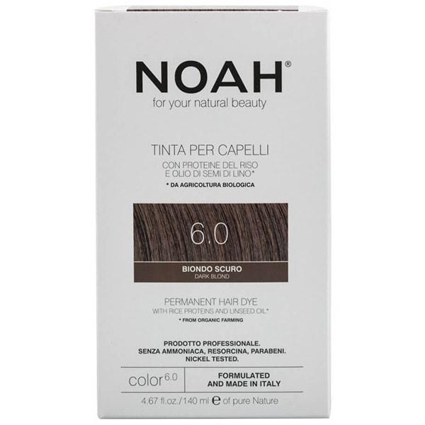 Vopsea de par NOAH, 6.0 Blond inchis, 140ml