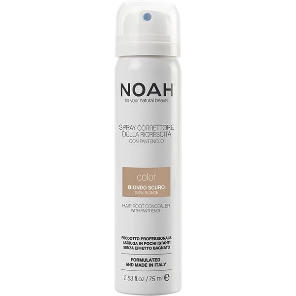 Spray corector pentru acoperirea radacinilor NOAH, Blond inchis, 75ml