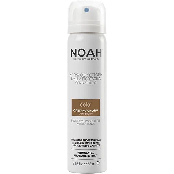 Spray corector pentru acoperirea radacinilor NOAH, Castaniu deschis, 75ml