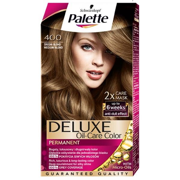 Vopsea de par PALETTE Deluxe, 400 Medium Blond, 130ml