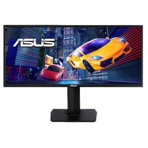 "Monitor Gaming LED VA ASUS VP348QGL, 34"", UWQHD, 75 Hz, HDR10, negru"