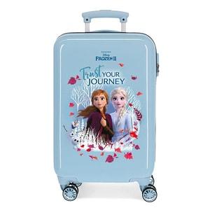 Troler copii DISNEY Frozen Trust Your Journey 25414.61, 55 cm, albastru