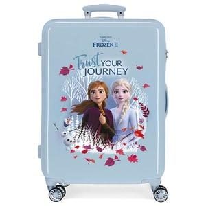Troler copii DISNEY Frozen Trust Your Journey 25415.61, 65 cm, albastru