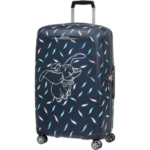 Troler SAMSONITE Spinner Disney Forever Dumbo Feathers, 69 cm, multicolor