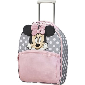 Troler copii SAMSONITE Upright Disney Ultimate 2.0 Minnie Glitter, 49 cm, multicolor