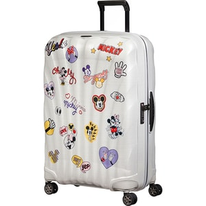 Troler SAMSONITE Spinner C-Lite Disney Minnie/Mickey Abtibild, 75 cm, multicolor