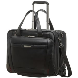 Troler laptop SAMSONITE Pro-DLX 5 LTH Business, 33 cm, negru