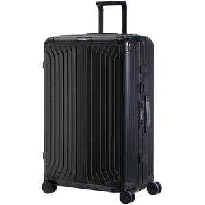 Troler SAMSONITE Spinner Lite-Box Aluminiu, 76 cm, negru