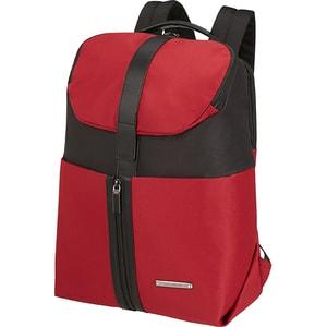 """Rucsac laptop SAMSONITE Asterism, 15.6"""", negru-rosu"""