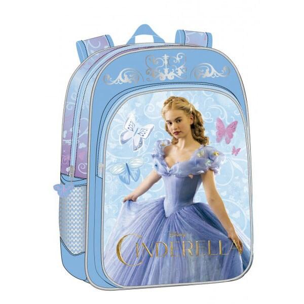 Ghiozdan pentru scoala DISNEY Cinderella Mirror 42123.51, albastru
