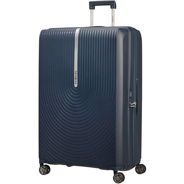 Troler SAMSONITE Spinner HI-FI, 81 cm, albastru