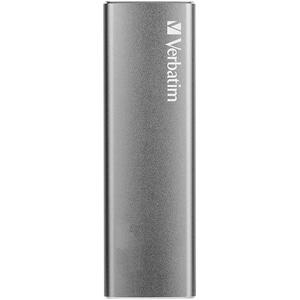 SSD portabil VERBATIM VX500, 480GB, USB 3.1 Gen 2, argintiu