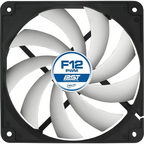 Ventilator ARCTIC F12 PWM PST, 120mm, 600-1350rpm, 3-pin PWM
