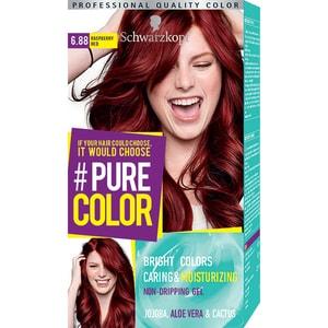Vopsea de par SCHWARZKOPF Pure Color, 6.88 Rosu zmeura, 142.5ml
