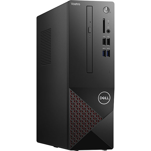 Sistem Desktop DELL Vostro 3681 SFF, Intel Core i5-10400 pana la 4.3GHz, 8GB, SSD 256GB, Intel UHD Graphics 630, Windows 10 Pro, negru
