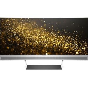 """Monitor curbat LED VA HP Envy W3T65AA, 34"""", WQHD, 60Hz, negru-argintiu"""