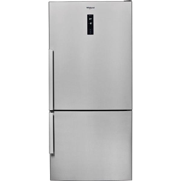 Combina frigorifica WHIRLPOOL W84BE 72 X, No Frost, 558 l, H 186 cm, Clasa E, inox