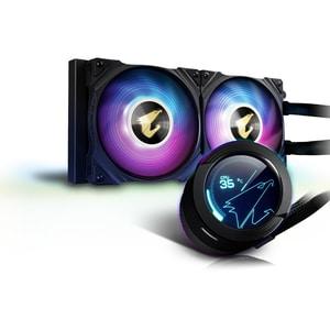 Cooler procesor cu racire lichida GIGABYTE AORUS WATERFORCE X 240, 2x120mm, iluminare ARGB