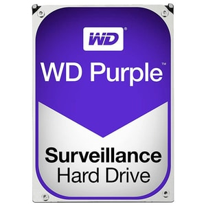 Hard Disk desktop WESTERN DIGITAL Purple, 4TB, 5400 RPM, SATA3, 64MB, WD40PURZ