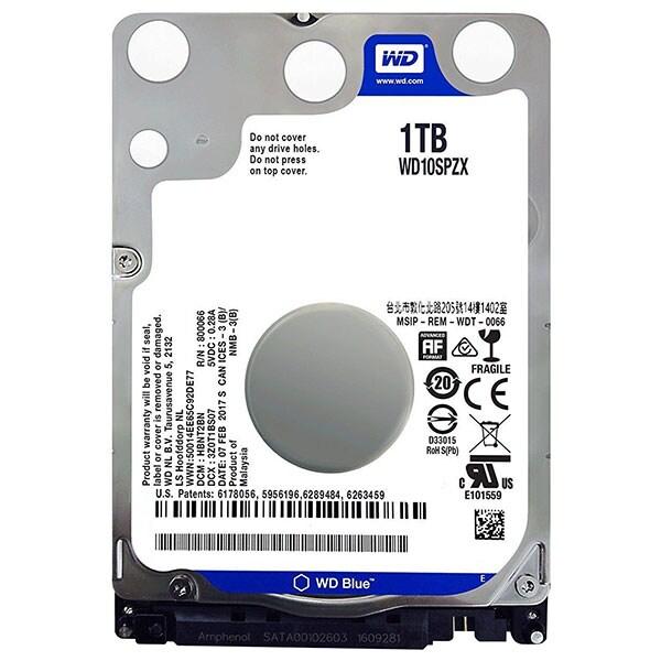 Hard Disk laptop WESTERN DIGITAL Blue 1TB, 5400 RPM, SATA3, 128MB, WD10SPZX
