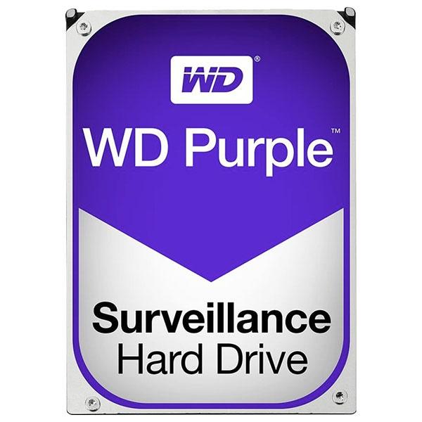Hard Disk desktop WESTERN DIGITAL Purple, 4TB, 5400 RPM, SATA3, 64MB, WD40PURZ