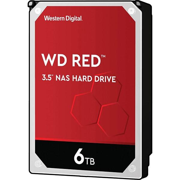 Hard Disk NAS desktop WD Red, 6TB, 5400 RPM, SATA3, 256MB, WD60EFAX