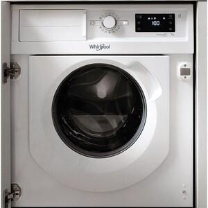 Masina de spalat rufe incorporabila WHIRLPOOL BI WMWG 71484E EU, 6th Sense, 7 kg, 1400 rpm, Clasa A+++, alb
