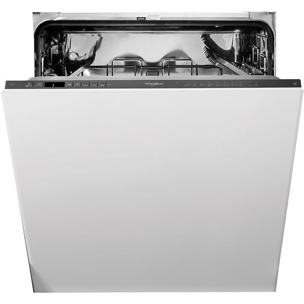 Masina de spalat vase incorporabila WHIRLPOOL WIO 3T133 PE 6.5, 14 seturi, 10 programe, 60 cm, Clasa D, negru
