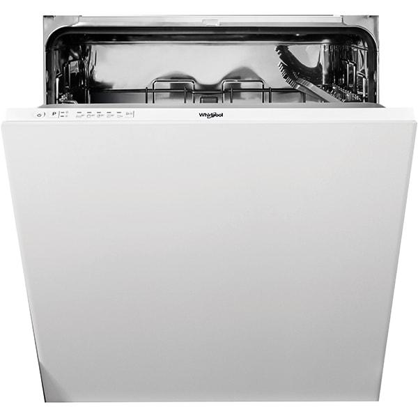 Masina de spalat vase incorporabila WHIRLPOOL WI 3010, 13 seturi, 5 programe, 60 cm, Clasa F, alb
