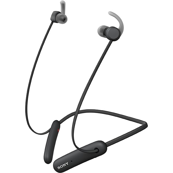 Casti SONY WI-SP510B, Bluetooth, In-ear, Microfon, EXTRA BASS, negru