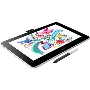 Tableta grafica WACOM One Creative Pen Display, alb-negru