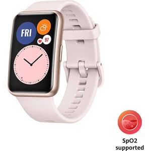 Smartwatch HUAWEI Watch Fit, Android/iOS, silicon, Sakura Pink