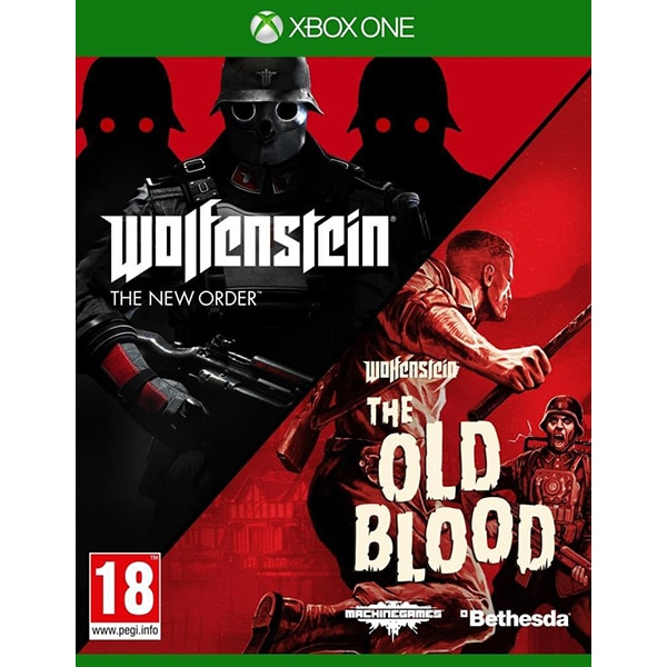 Wolfenstein: The New Order & The Old Blood (Dual Pack) Xbox One