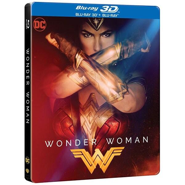 Wonder Woman Blu-ray 3D + Blu-ray Steelbook
