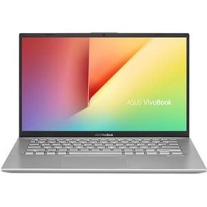 "Laptop ASUS VivoBook 14 X412FA-EB025, Intel Core i3-8145U pana la 3.9GHz, 14"" Full HD, 8GB, SSD 256GB, Intel UHD Graphics 620, Endless, gri"