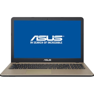 "Laptop ASUS X540UA-GQ1385, Intel Pentium 4417U pana la 2.3GHz, 15.6"" HD, 4GB, 1TB, Intel HD Graphics 610, Endless OS, Chocolate Black"